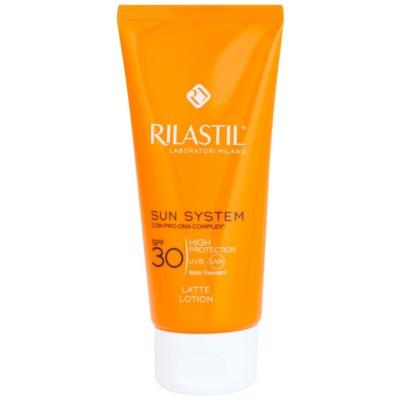 schützende Sonnenmilch SPF 30
