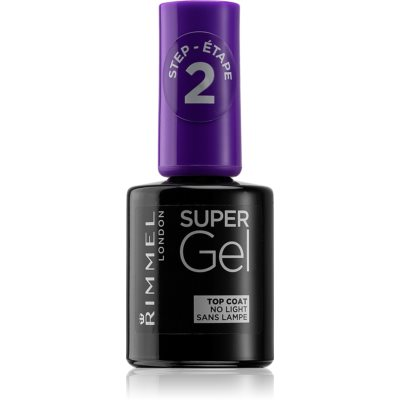 Rimmel Super Gel Step 2 protective top coat of gloss