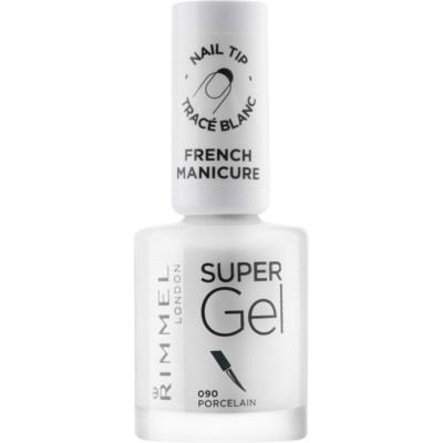 verniz em gel para manicure francesa