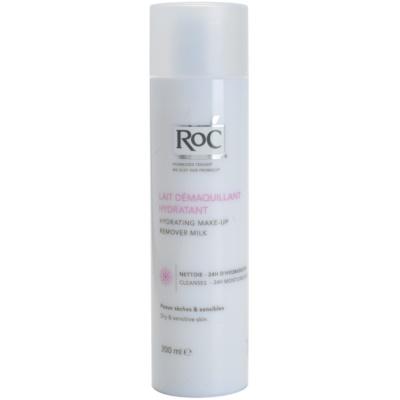 hydratisierende Milch zum entfernen von Make-up für empfindliche trockene Haut
