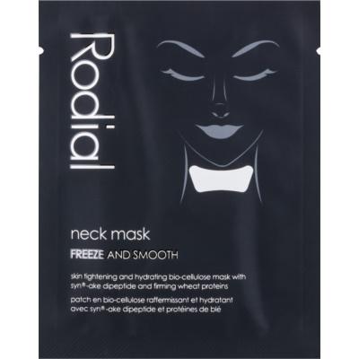 Maske für Hals und Dekolleté