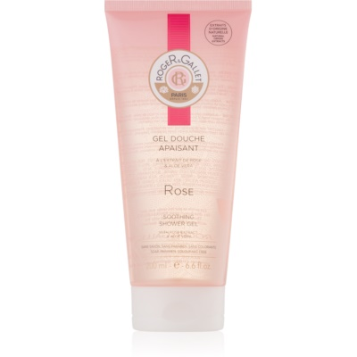 Roger & Gallet Rose gel de douche apaisant