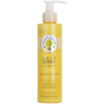 Roger & Gallet Cédrat Refreshing Body Lotion For Normal And Dry Skin
