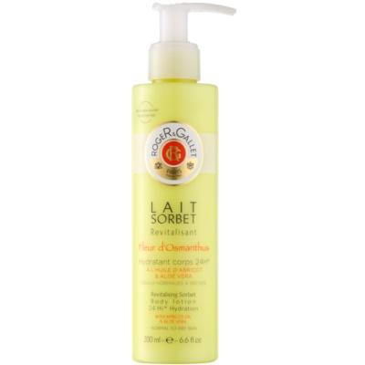 leche corporal revitalizante para pieles normales y secas