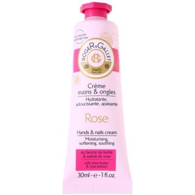 Roger & Gallet Rose eine Crem zum Schutz von Händen und Nägeln mit Sheabutter und Rosenextrakt