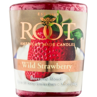Root Candles Wild Strawberry velas votivas