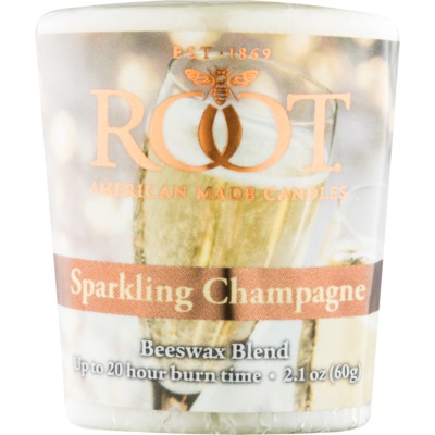 Root Candles Sparkling Champagne Votive Candle