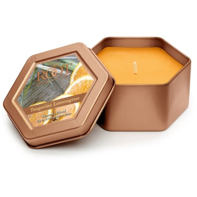 Root Candles Tangerine Lemongrass ароматна свещ   в кутия