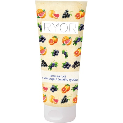 RYOR Face & Body Care Grapefruit and Blackcurrant Hand Cream