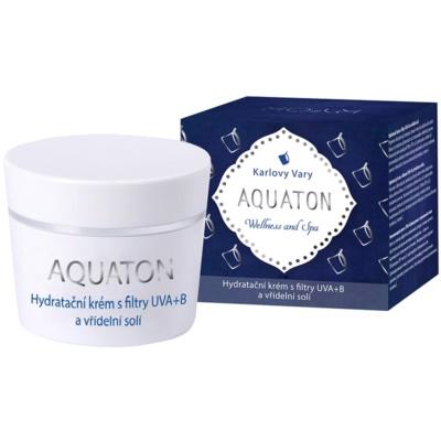 crema hidratante con filtro UVA y UVB