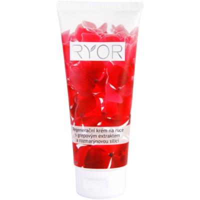 crema regeneradora para manos con extracto de pomelo y esencia de romero
