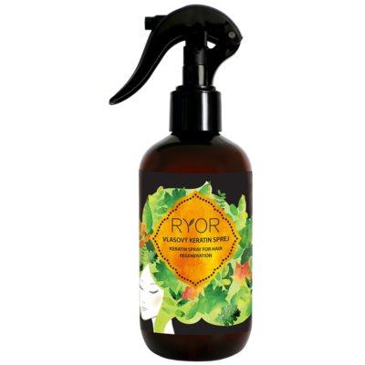 keratinový sprej na vlasy