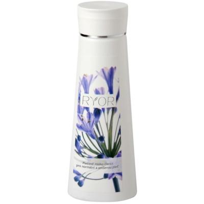leche limpiadora para rostro para pieles normales y mixtas