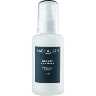 Sachajuan Cleanse and Care Hair Repair Night Retexturising Emulsion