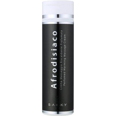 parfémovaný zahřívací masážní krém unisex 200 ml