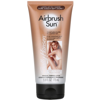 Sally Hansen Airbrush Sun автобронзант - крем за лице и тяло