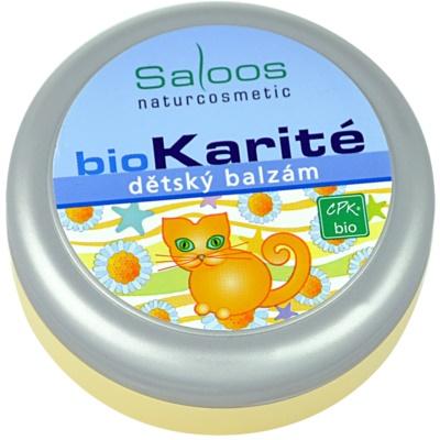 Saloos Bio Karité παιδικό βάλσαμο