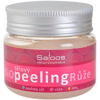 Saloos Bio Peeling gommage corporel rose