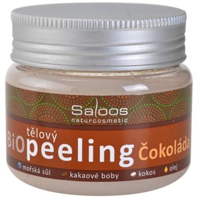 Saloos Bio Peeling gommage corporel chocolat