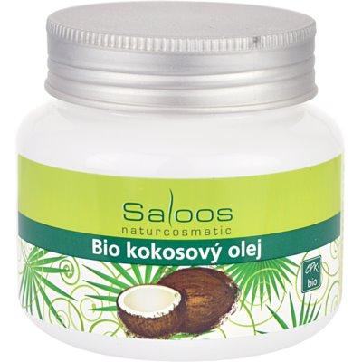 Saloos Bio Coconut Oil кокосова олійка для сухої та чутливої шкіри