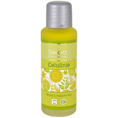 tělový a masážní olej Celulinie