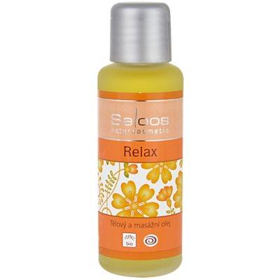 tělový a masážní olej Relax