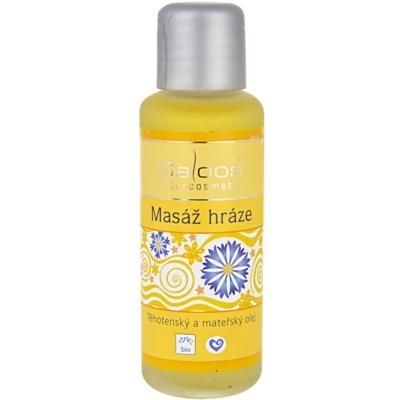 olej na masáž hrádze