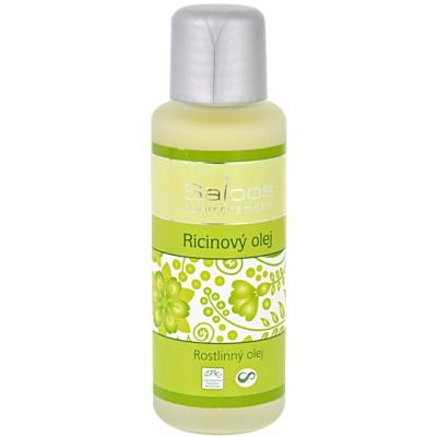 Saloos Vegetable Oil ricinový olej na obličej a tělo
