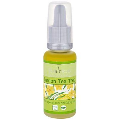 bio regeneračný pleťový olej Lemon Tea Tree