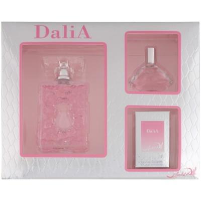 Salvador Dali DaliA Gift Set I.  Eau De Toilette 50 ml + Eau De Toilette 15 ml + Eau De Toilette 4,5 ml