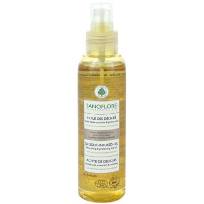 suchy olejek do twarzy, ciała i włosów