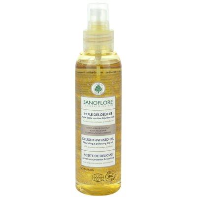 suchý olej na obličej, tělo a vlasy