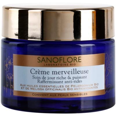 Sanoflore Merveilleuse crème raffermissante et nourrissante anti-rides