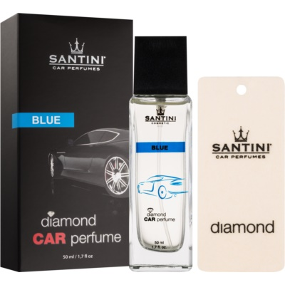 SANTINI Cosmetic Diamond Blue Car Air Freshener