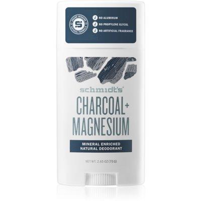 Schmidt's Charcoal + Magnesium dezodorant w sztyfcie do wszystkich rodzajów skóry