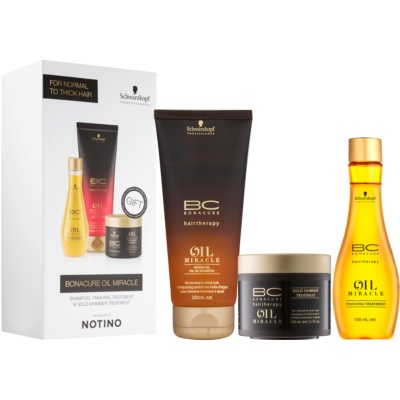 Schwarzkopf Professional BC Bonacure Oil Miracle Argan Oil Cosmetic Set III.