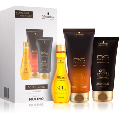 Schwarzkopf Professional BC Bonacure Oil Miracle Argan Oil coffret cosmétique I.