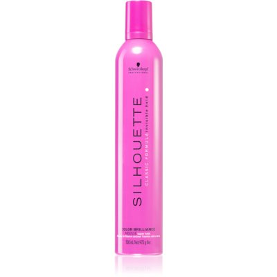 Schwarzkopf Professional Silhouette Color Brilliance mousse fixante fixation forte