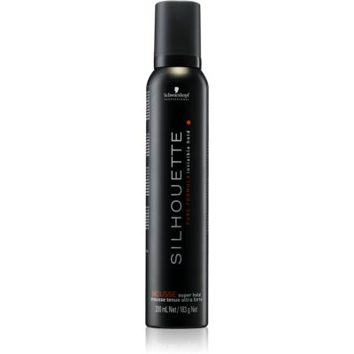 Schwarzkopf Professional Silhouette Super Hold пяна за коса  силна фиксация