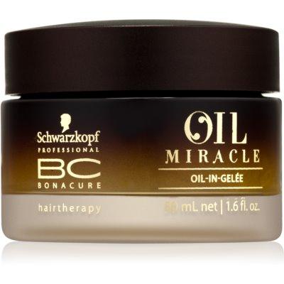 Öl-Gel für das Haar