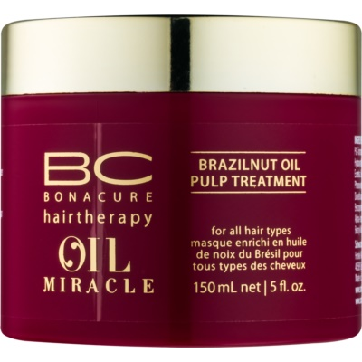 Schwarzkopf Professional BC Bonacure Oil Miracle Brazilnut Oil máscara para cabelo para todos os tipos de cabelos