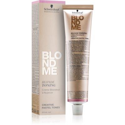 Tönungscreme für blonde Haare