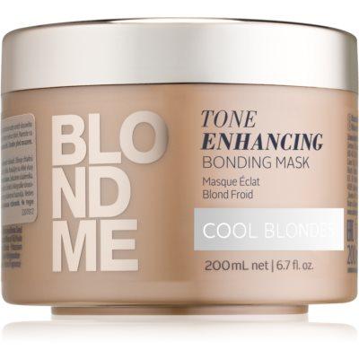 Schwarzkopf Professional Blondme maschera per capelli nutriente per sfumature biondo freddo