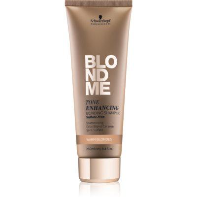 sulfatfreies Shampoo für warme Blondtöne