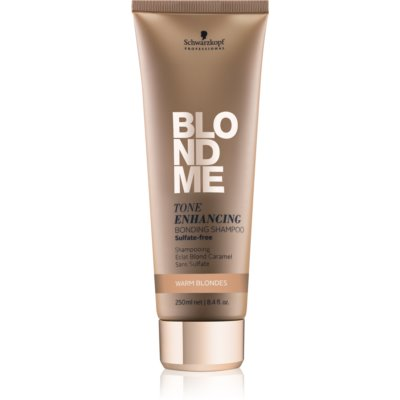 Schwarzkopf Professional Blondme Sulphate-Free Shampoo For Warm Blonde