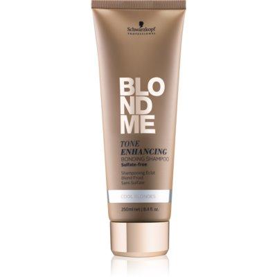 Schwarzkopf Professional Blondme bezsulfátový šampon pro studené odstíny blond