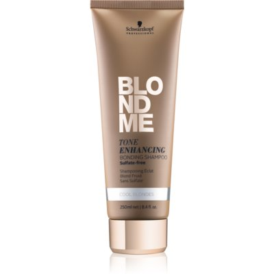 Schwarzkopf Professional Blondme безсулфатен шампоан за студени руси нюанси