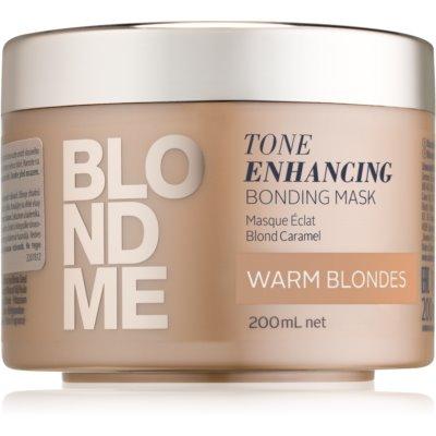 Maske mit ernährender Wirkung für warme Blondtöne