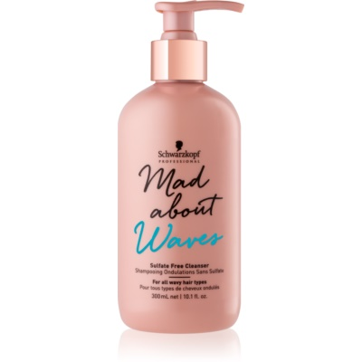 Schwarzkopf Professional Mad About Waves хидратиращ шампоан за чуплива и къдрава коса без сулфати