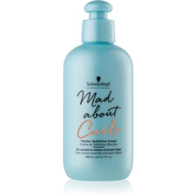 Schwarzkopf Professional Mad About Curls creme de styling hidratante para cabelo ondulado